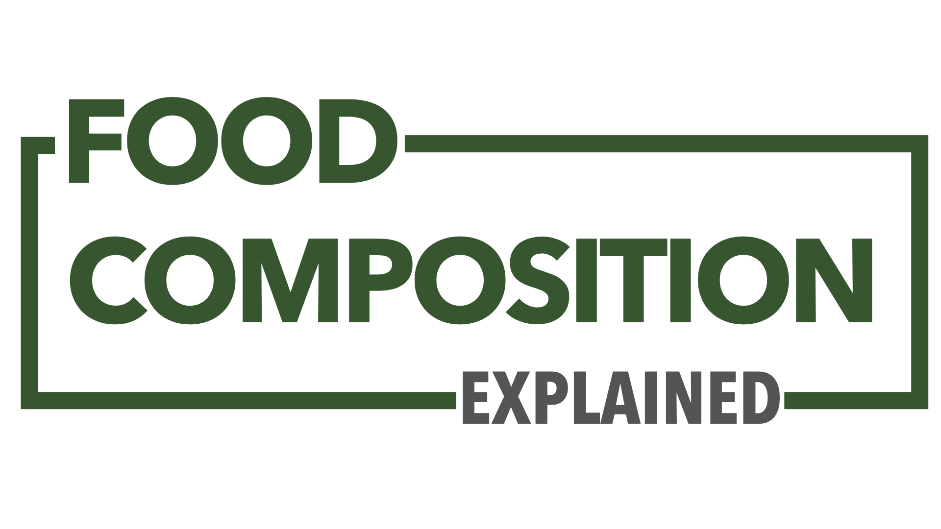 Food Composition Explained